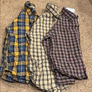 Button down casual tops